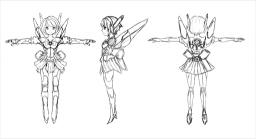 格闘ゲーム企画デザイン案