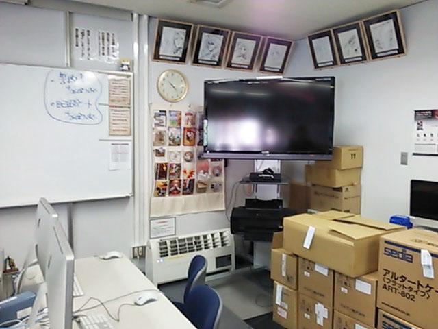 302教室にはPS3が常備されてます!大画面で遊んでみたいですね。