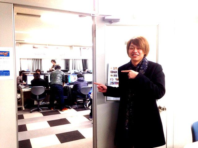 ゲームプランナー学科の教室