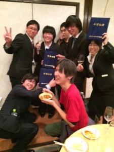 卒業式パーティー