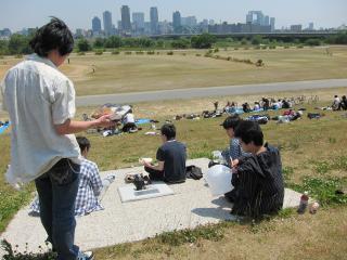 淀川にて2