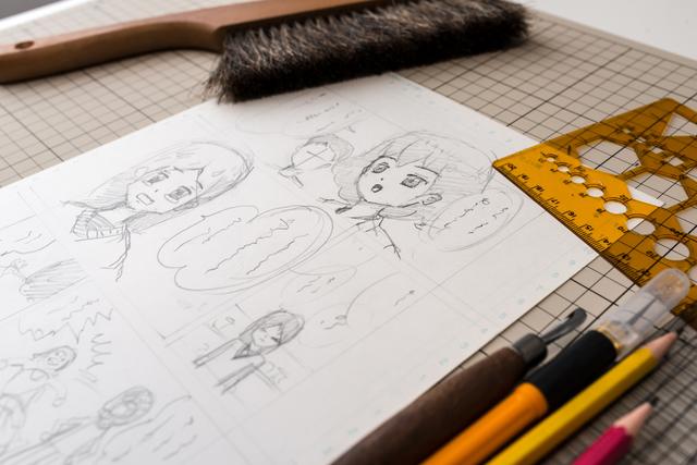 漫画家を目指すなら必見!ネーム作りの秘訣を紹介