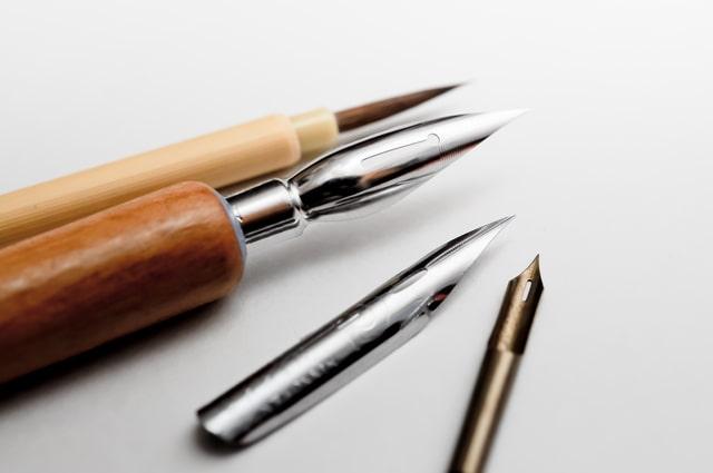 Gペンや丸ペン