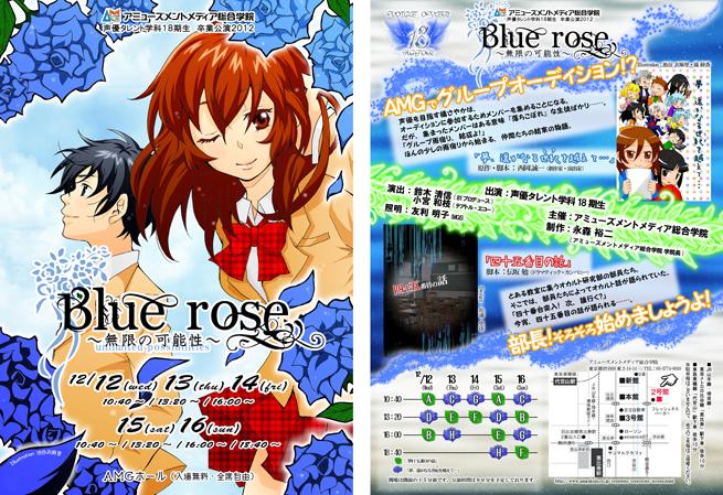 「Blue rose~無限の可能性~」ポスター