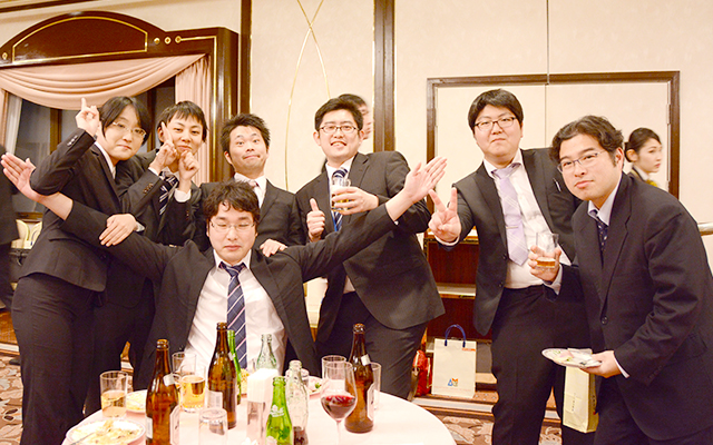 式後 パーティーの様子4