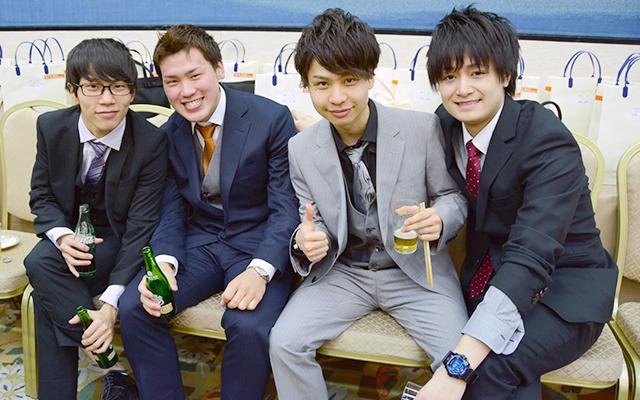 式後 パーティーの様子5